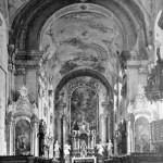 19. Barokní výzdoba klášterního kostela v Nové Říši (Adolf Rossi)