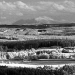Panorama nad Poldovkou (IR foto)