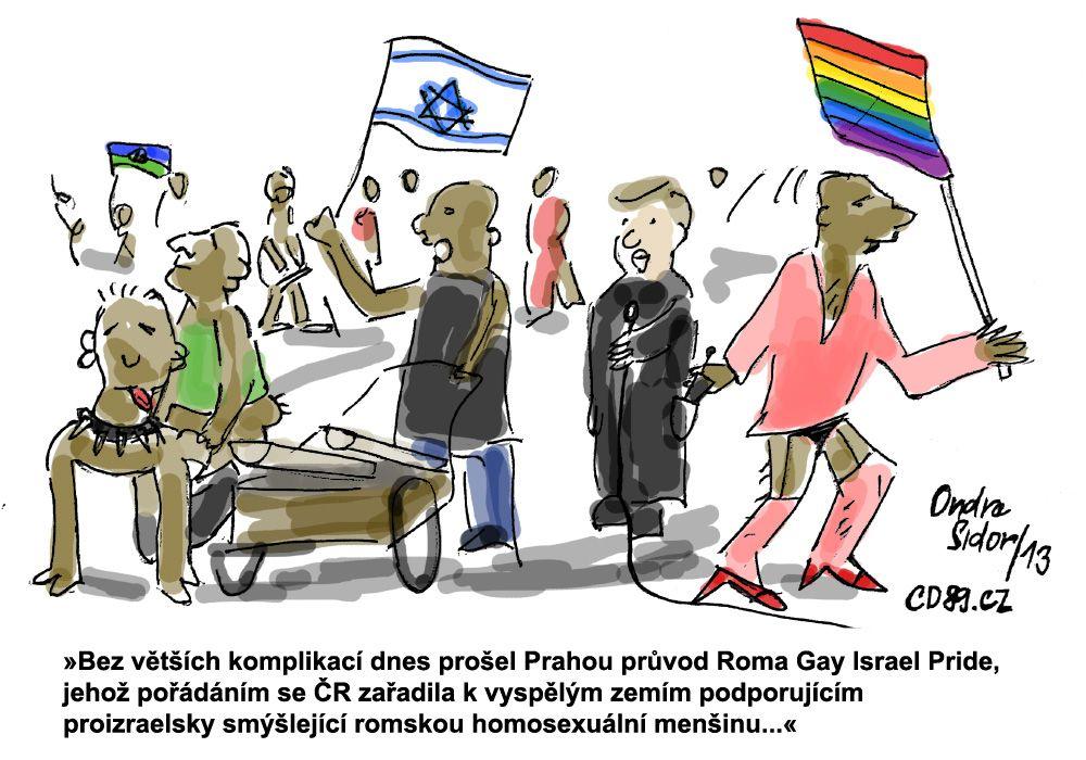 Průvod Roma Gay Pride