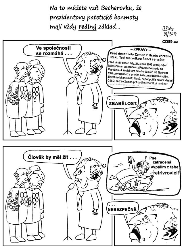 Zemanovy projevy