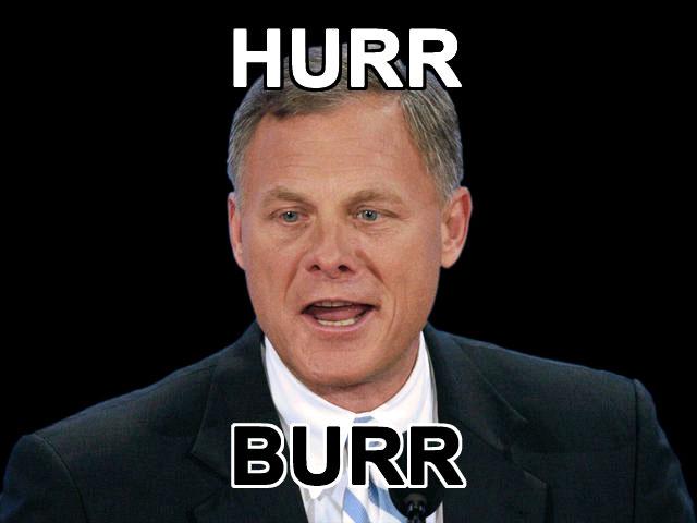 Richard Burr Goes Hurr