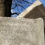 Židovský náhrobek