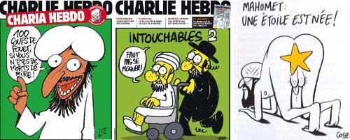 Charlie Hebdo: Islám třikrát jinak (a stále stejně)