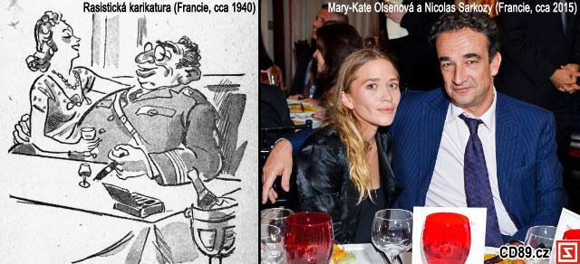 Mary-Kate Olsen a Nicolas Sarkozy