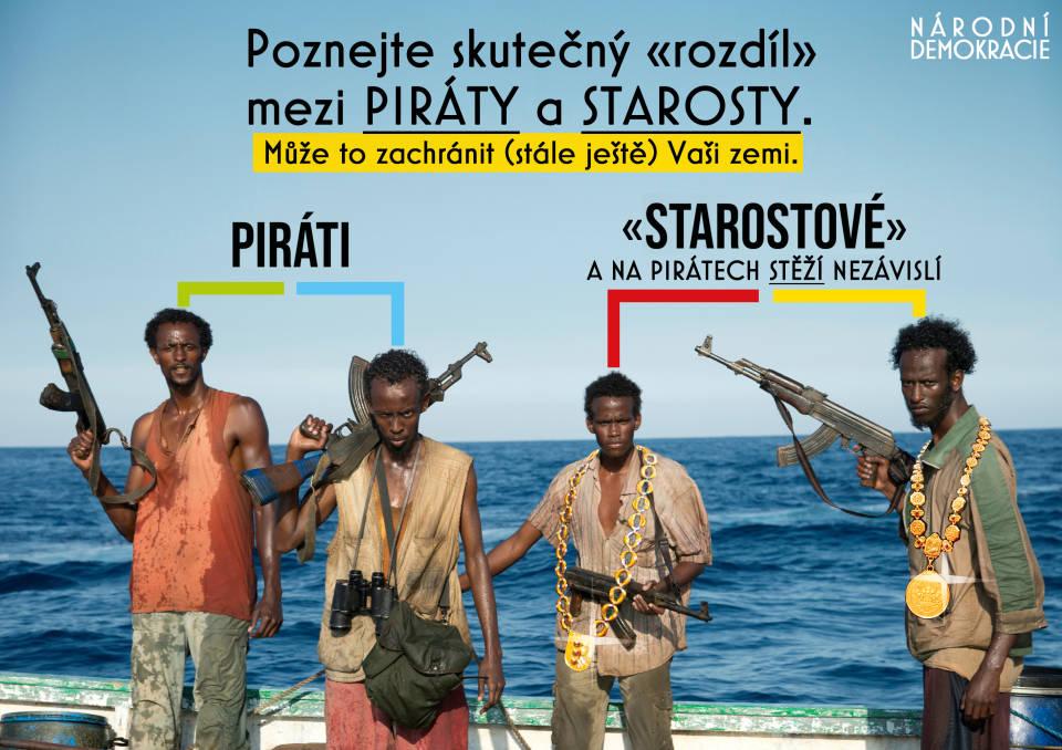 Piráti a starosti I