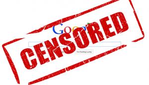 censorship censored google cenzuruje výsledky