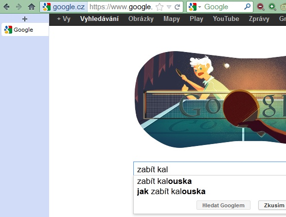 Jak zabít kalouska? Google poradí.