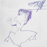 Kuřák (kreslil J. K.)
